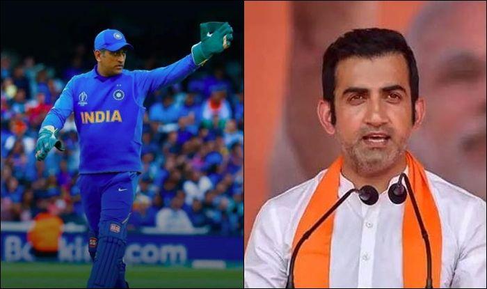 MS Dhoni, Gautam Gambhir, Team India, MS Dhoni Retirement, Gautam Gambhir on MS Dhoni, Gautam Gambhir on MS Dhoni retirement, Gambhir speaks about Dhoni's retirement, Mahendra Singh Dhoni, MS Dhoni-Team India, BCCI, Men in Blue, India tour of West Indies 2019, India vs West Indies, Gautam Gambhir age, Gautam Gambhir twitter, Gautam Gambhir BJP, ICC Cricket World Cup 2019, Cricket News, T20 World Cup 2020, Dhoni Retirement Plans, IPL 2020, Chennai Super Kings