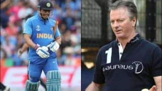 Steve Waugh Backs MS Dhoni After India's Defeat to New Zealand in Semifinal of ICC Cricket World Cup 2019