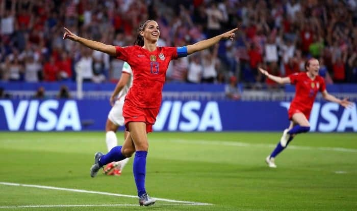 USA defeated England in the semi-finals of the ongoing FIFA Women's World Cup