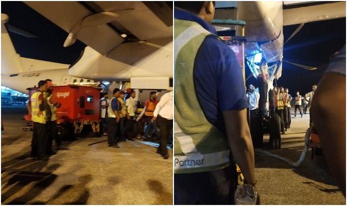 Kolkata: SpiceJet Worker Gets Stuck Between Hydraulic Door Flaps in Landing Gear During Maintenance, Dies