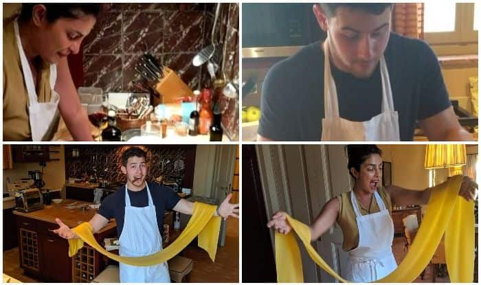 Priyanka Chopra-Nick Jonas Redefine Couple Goals as They Cook For Each Other on Date Night in Italy