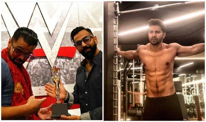 WWE's Singh Brothers Root For Varun Dhawan in Coolie No.1 Remake, Hold a Fake Award Ceremony