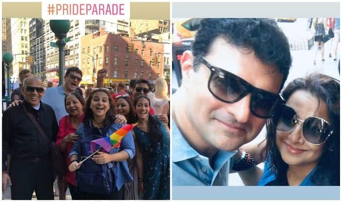 Vidya Balan Participates in Pride Parade With Family Amid Her New York Vacation