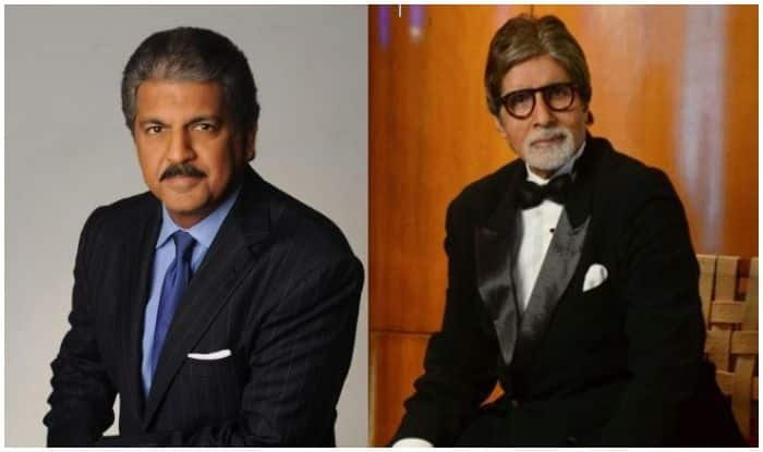 Anand Mahindra And Amitabh Bachchan Indulge in a Friendly Banter on Twitter, Checkout