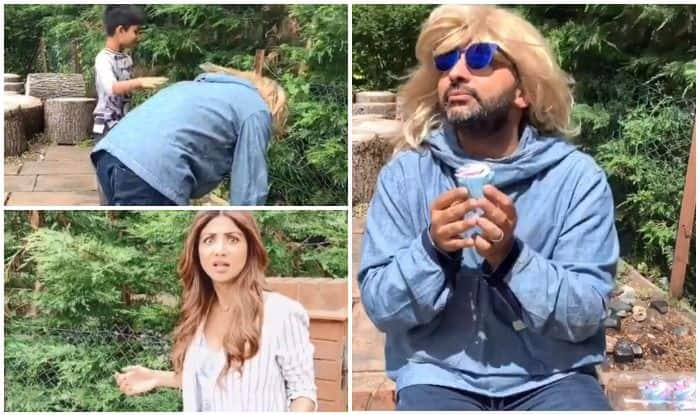 Raj Kundra Does a Hilarious Mimicry of Shilpa Shetty's Sunday Binge Videos and Fans Double Down With Laughter!