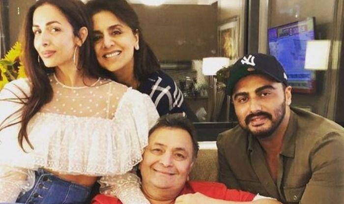 Malaika Arora, Arjun Kapoor, Rishi Kapoor, Neetu Kapoor