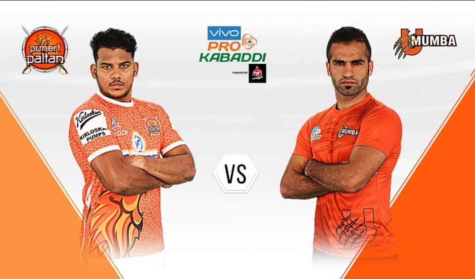 LIVE U Mumba vs Puneri Paltan, Pro Kabaddi League 2019, live score, MUM vs PUN Live Score and Updates, Point by point update, MUM vs PUN, MUM vs PUN Live streaming, MUM vs PUN Live Scorecard, PKL 2019, Pro Kabaddi League 2019 Match 12, live MUM vs PUN, live score MUM vs PUN, live scorecard, MUM vs PUN Live, Live Score MUM vs PUN Match 12, Match 12 MUM vs PUN Live Updates