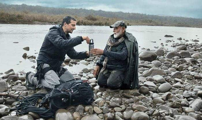 PM Narendra Modi's Show With Bear Grylls Already a Hit as #PMModionDiscovery Goes Viral on Twitter