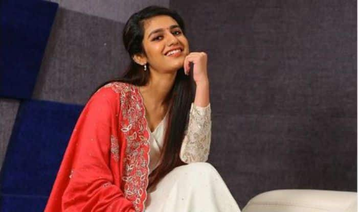 Malayalam Hot Actor Priya Prakash Varrier Looks Breathtakingly Beautiful in Red And White Ethnic Outfit