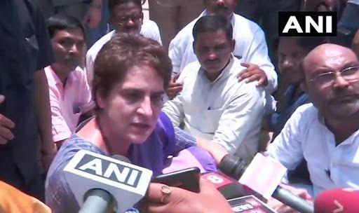 Sonbhadra Firing: Priyanka Gandhi Detained From Visiting Kins of 10 Killed in Uttar Pradesh