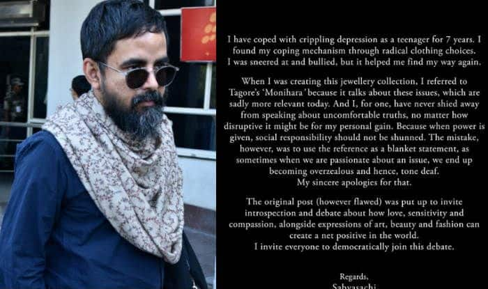 Designer Sabyasachi Mukherjee Apologises For His 'Overdressed Women' Post After Being Trolled