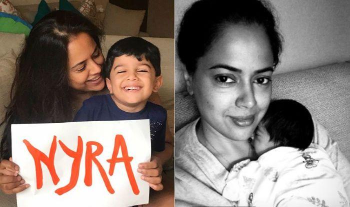 Sameera Reddy Reveals The Name of Her Newborn Daughter – Nyra Varde