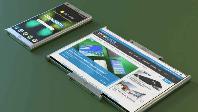 Samsung receives patent for a phone that can expand into a tablet