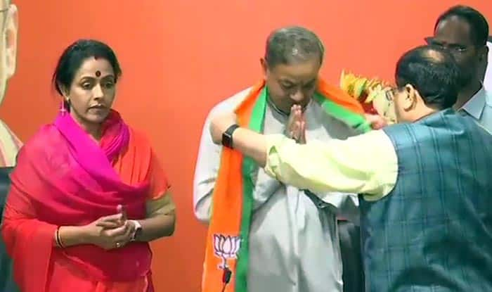 Former Congress Leader Sanjay Singh, Wife Amita Singh Join BJP