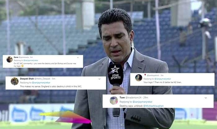 ICC Cricket World Cup 2019, Sanjay Manjrekar, Sanjay Manjrekar tweet, Sanjay Manjrekar tweet on Jadeja, Sanjay Manjrekar comments on Jadeja, Sanjay Manjrekar stats, Sanjay Manjrekar cricbuzz, New Zealand ve England, NZ vs ENG, New Zealand vs England ICC Cricket World Cup 2019 final, NZ vs ENG Cricket World Cup 2019 final, NZvs ENG final, New Zealand vs England final Cricket World Cup 2019,