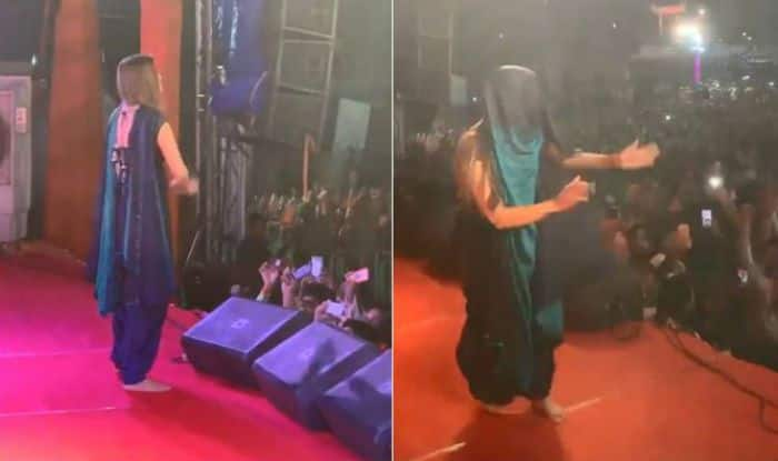 Sapna Choudhary Shares Sneak Peek of Her Latest Stage Show in Mathura, Watch Sexy Dance Moves