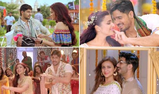 Stills from Jabariya Jodi's new song Macchardani starring Parineeti Chopra, Sidharth Malhotra and Aparshakti Khurana