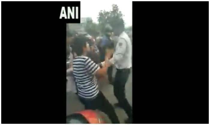 Watch | Delhi Woman, Friend Halted For Not Wearing Helmet, Arrested For Abusing Traffic Cop