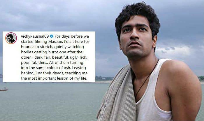 Vicky Kaushal Recalls Masaan And The Days When he Used to Sit on The Ghats Watching Dead Bodies Burn