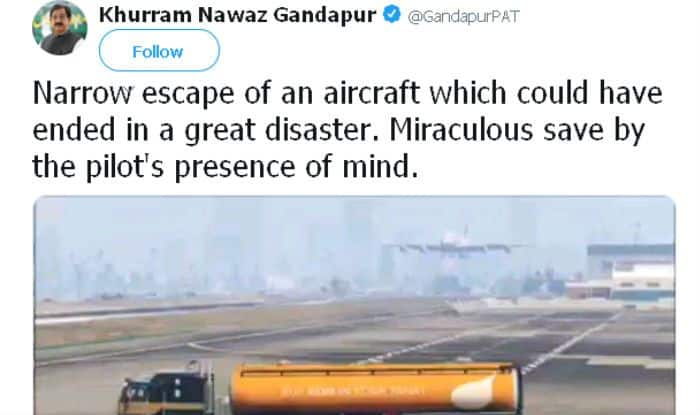 Pakistani Politician Trolled For Mistaking a Plane in Video Game For Real – Read Funny Tweets