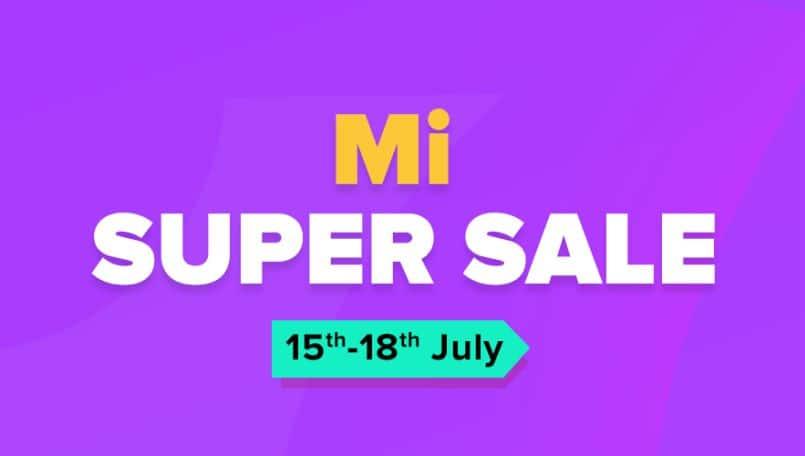 Xiaomi Mi Super Sale: Deals on Redmi Note 7S, Mi A2, Poco F1, Mi TVs, speakers and accessories