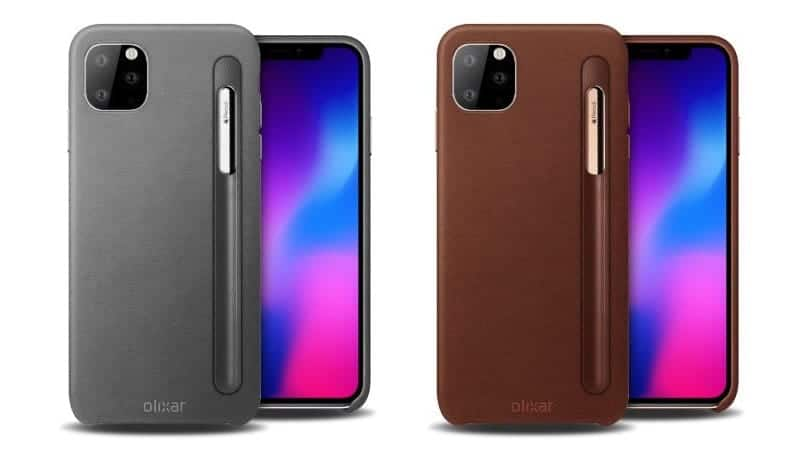 New iPhone 2019 lineup case renders hint at support for smaller Apple Pencil support