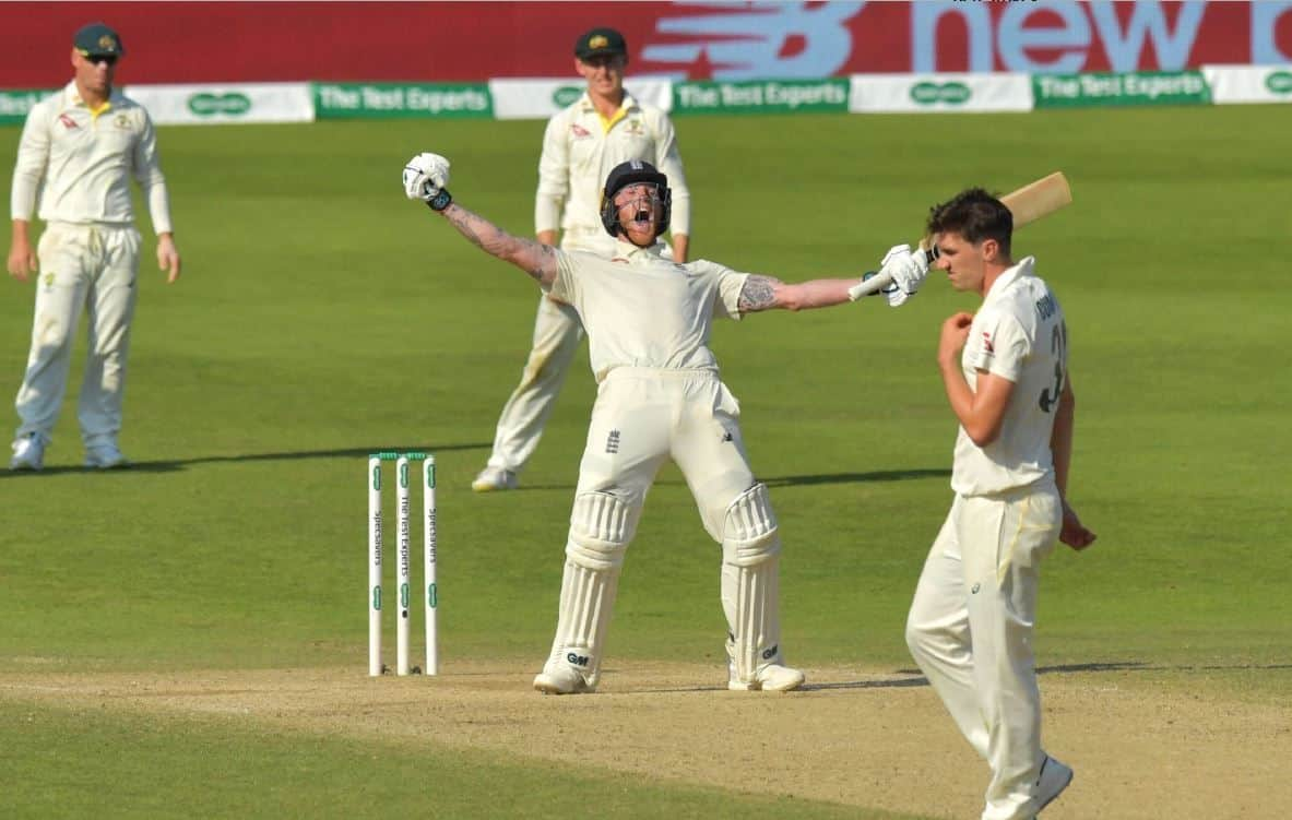 Ben Stokes, Ben Stokes helps England win 3rd Ashes test, England defeat Australia in 3rd Ashes test, Ben Stokes heroics beat Australia, Stokes against Australia in 3rd Ashes test, England vs Australia 3rd Ashes Test, ENG vs AUS 2019, ENG vs AUS, Ashes 2019, Ben Stokes century against Australia in 3rd Ashes tets, Stokes man of the match in 3rd Ashes test