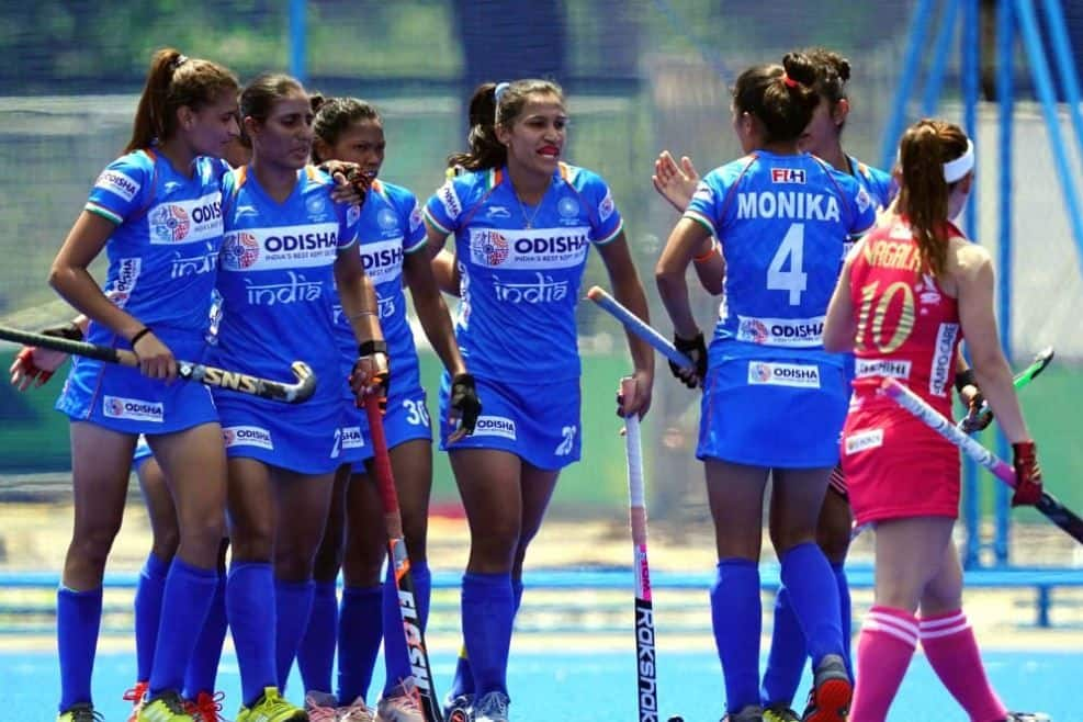 ndian Women's Hockey Team, Indian Women's Hockey Team Defeat Japan 2-1 to Win Olympic Test Event, Japan women's hockey team, Olympic Test Event, Indian hockey news, FIH Olympic Qualifiers.