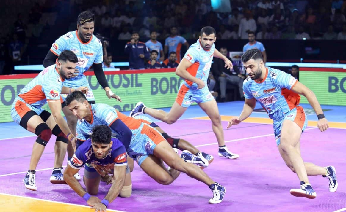 Image result for Bengal Warriors vs Tamil Thalaivas