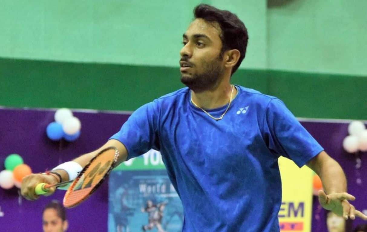 Sourabh Verma, National Badminton Champion, National Badminton Champion Sourabh Verma, Shuttler Sourabh Verma, Sourabh Verma Wins Hyderabad Open, National Badminton Champion Sourabh Verma Win Hyderabad Open, Sourabh Verma Defeats Loh Kean Yew in Final of Hyderabad Open, Ashwini Ponnappa-N. Sikki Reddy, Ashwini Ponnappa-N. Sikki Reddy Hyderabad Open,