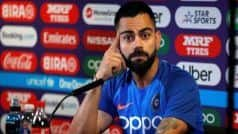 Kohli Feels ICC World Test Championship Will Increase Competitions in Red-Ball Cricket
