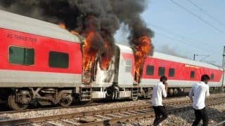 Haryana: Fire Breaks Out in Brake Binding of Telangana Express, no Casualty