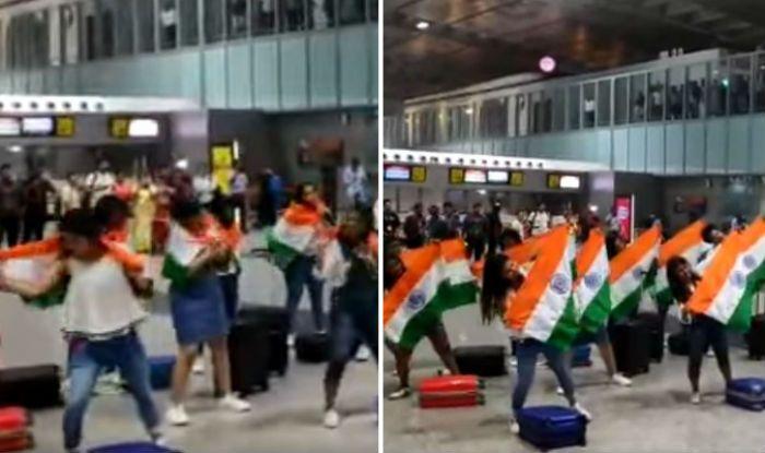 Flash Mob at Kolkata airport