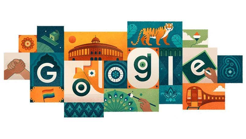 Google Doodle celebrates 73rd Independence Day in India with great artwork