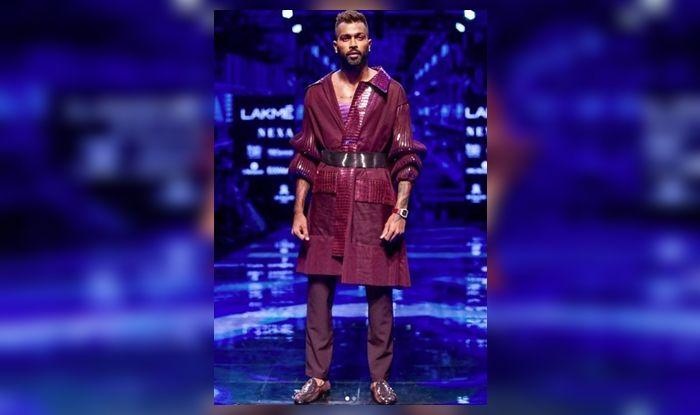 Hardik Pandya, Lakme Fashion Show 2019, Hardik Pandya allrounder, Amit Aggarwal, Cricket News, Hardik Pandya showstopper, LFW 2019