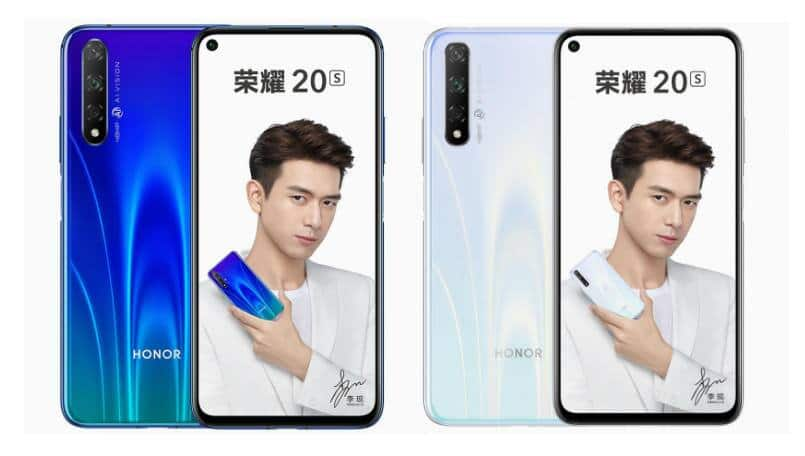 Honor 20S official renders surface online ahead of September 4 launch