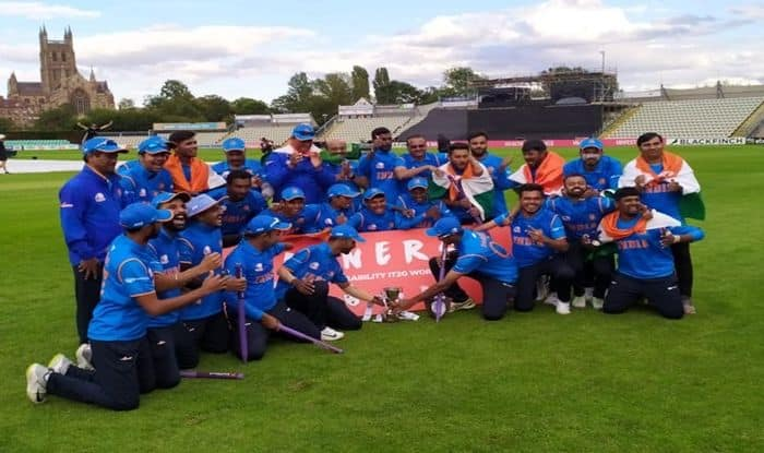 Physical Disability World Cricket Series 2019, India vs England, IND beat ENG, Physical Disability World Cricket Series, Cricket News, BCCI