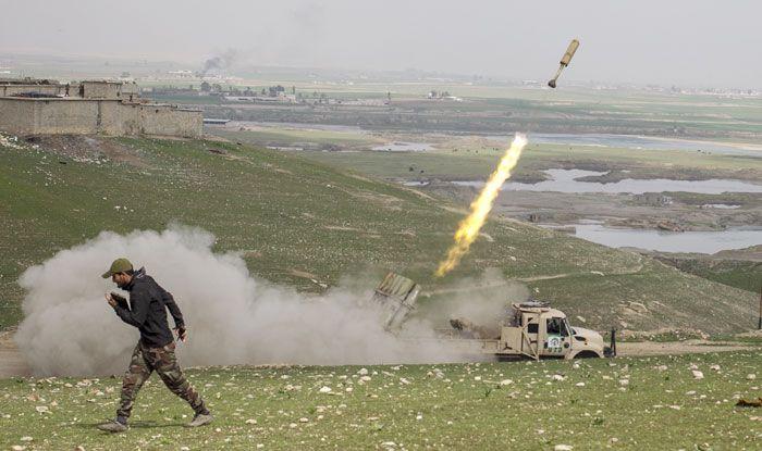 Airstrike, Iraq, Islamic State militants, Mteibijah