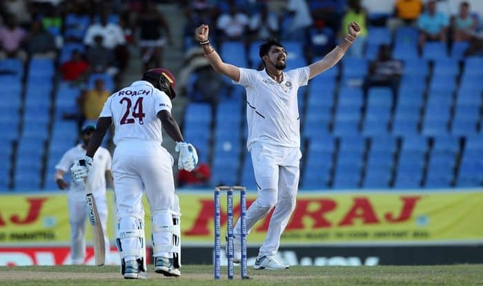 Ishant Sharma, Ishant Sharma surpasses Kapil Dev, Ishant Sharma Records, Ishant Sharma pips Kapil Dev to major Test record, Ishant overtakes Kapil to become Most Successful Pacer, Ishant Ishant five-for, Ishant Sharma vs West Indies, India vs West Indies 2019, IND vs WI 2nd Test, Virat Kohli, Jason Holder, Kemar Roach, India tour of West Indies 2019, Cricket News, Jamaica Test, Ishant Sharma Most Successful Indian Pacer Outside Asia in Test Cricket