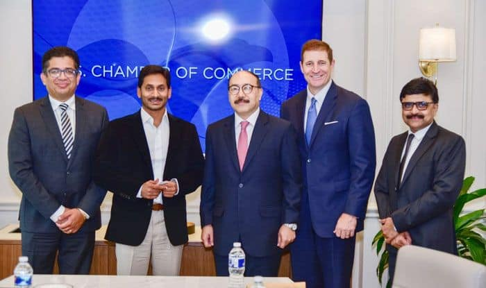 YS Jagan Mohan Reddy, Andhra Pradesh, US investment, US-India Business Council