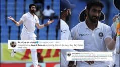 LEGEND, Already! Twitter Hails Bumrah For Rattling Windies With Five Wickets | POSTS