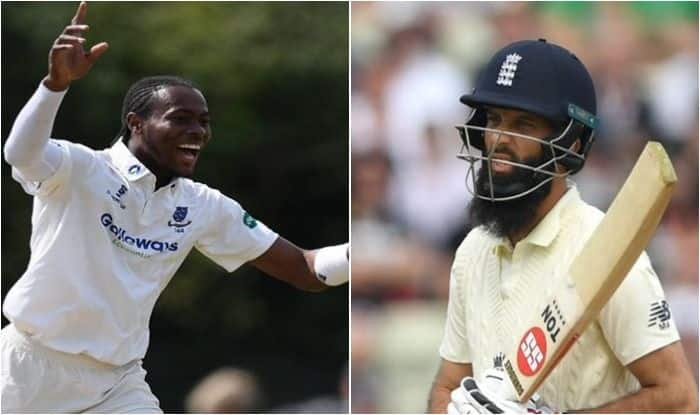 Jofra Archer, Moeen Ali, England Squad for Ashes Test, Ashes 2019, England vs Australia, Jofra Archer Test Debut, Archer to replace Anderson, England 2nd Test Squad, Cricket News, Moeen Ali Dropped, Archer Set for Test Debut, England Announce 12-Man Squad vs Australia, Jack Leach, Archer Test Debut