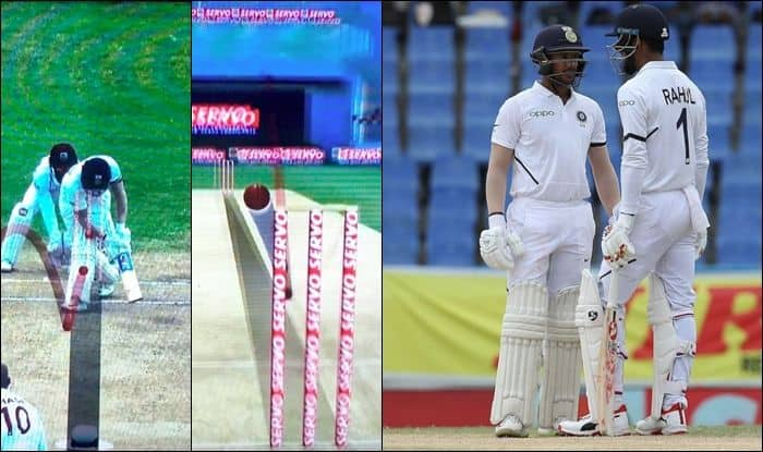 KL Rahul, Mayank Agarwal, India opener KL Rahul, India opener Mayank Agarwal, 1st Test Antigua, India vs West Indies, Ind vs WI, Mayank Agarwal lbw, DRS, Cricket News, Indian Cricket team, Team India