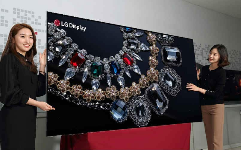 LG Display completes .2 billion OLED factory in China