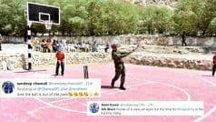 Different Pitch, Same Gameplan! Lt Col Dhoni Plays Cricket in Leh, Wins Hearts | POSTS