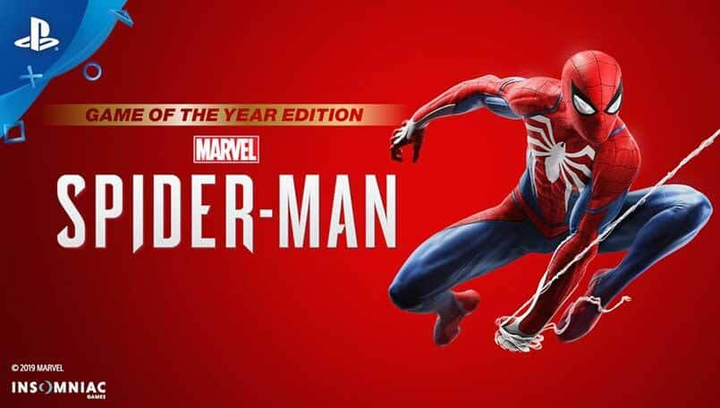 Marvel's Spider-Man gets a Game Of The Year Edition