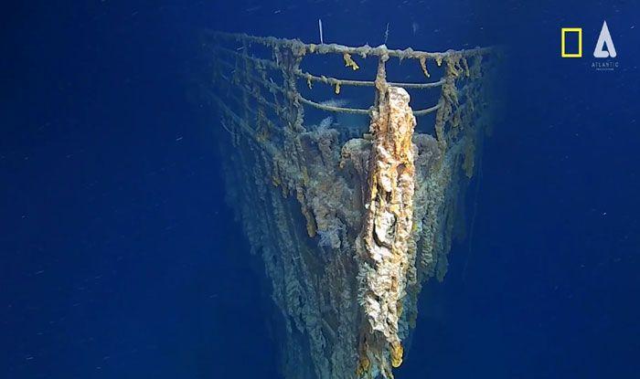 National Geographic, RMS Titanic, Mission Titanic, North Atlantic Ocean, Atlantic Productions