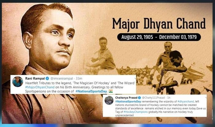 National Sports Day 2019, Olympic, Major Dhyan Chand, Dhyan Chand Birth Anniversary, National Sports Day twitter, why celebrate National Sports Day, Hockey wizard Dhyan Chand, 114th National Sports Day