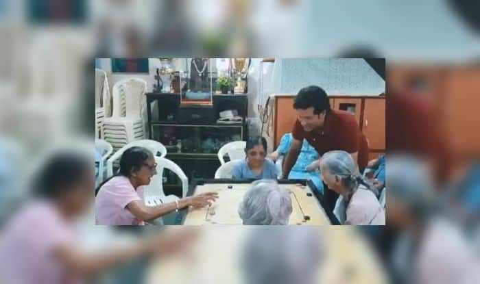 National Sports Day 2019, Olympic, Sachin Tendulkar's gesture, Sachin Tendulkar pays tribute to Major Dhyan Chand, Sachin Tendulkar visits St. Anthony's Old Age Home, Major Dhyan Chand, Dhyan Chand Birth Anniversary, National Sports Day twitter, why celebrate National Sports Day, Hockey wizard Dhyan Chand, 114th National Sports Day, Little Master, Master Blaster