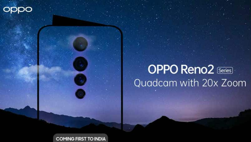 Oppo Reno 2, Reno 2Z, Reno 2F specifications and price in India leaked